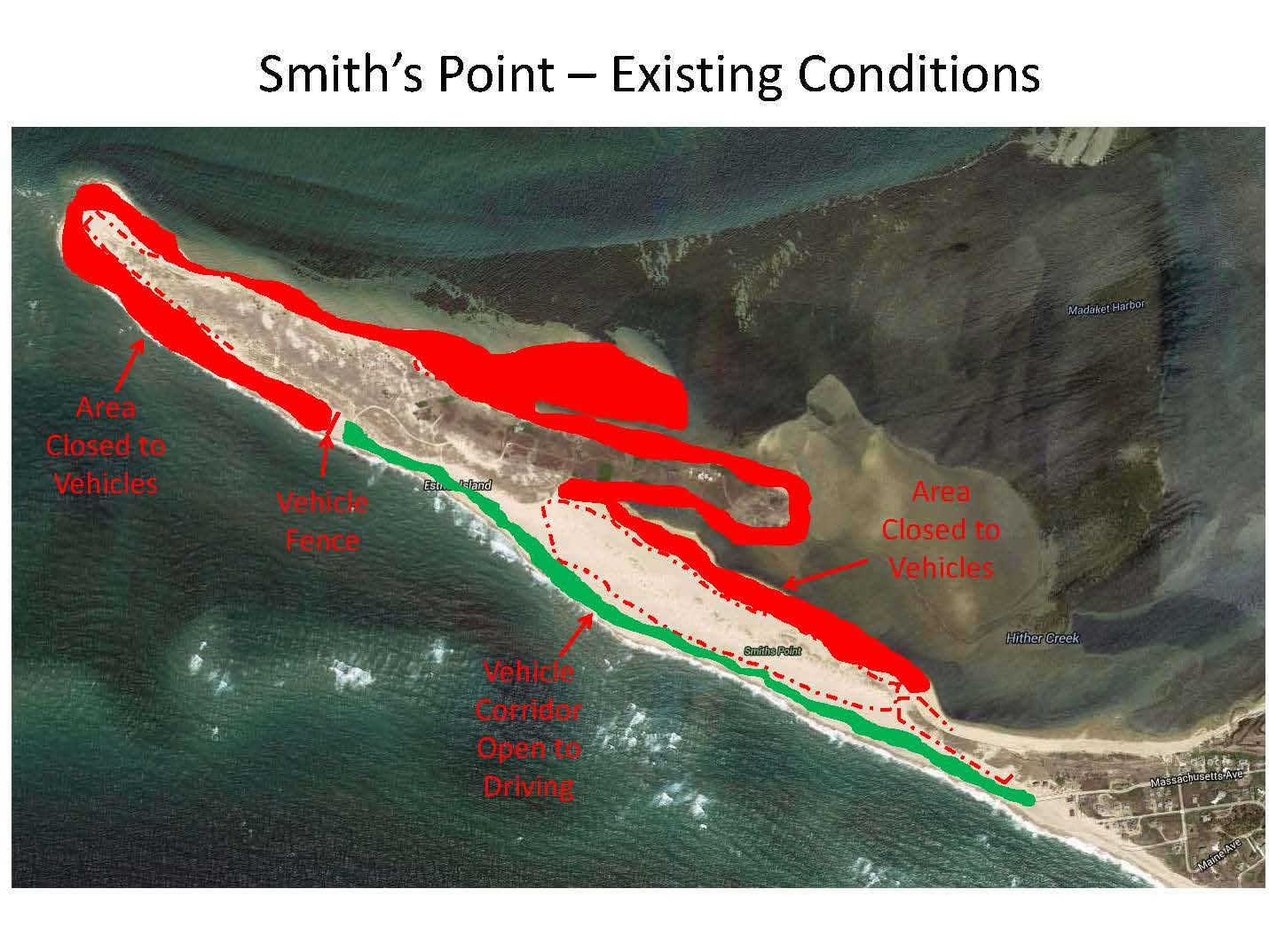 Smiths Point Vehicle Access