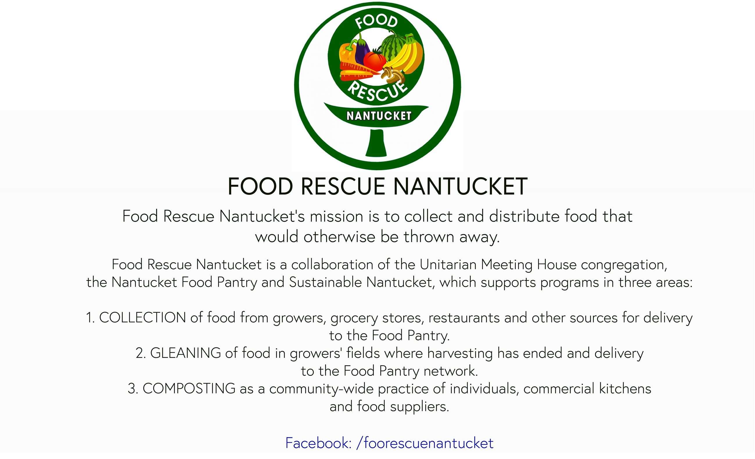 Food Rescue Nantucket