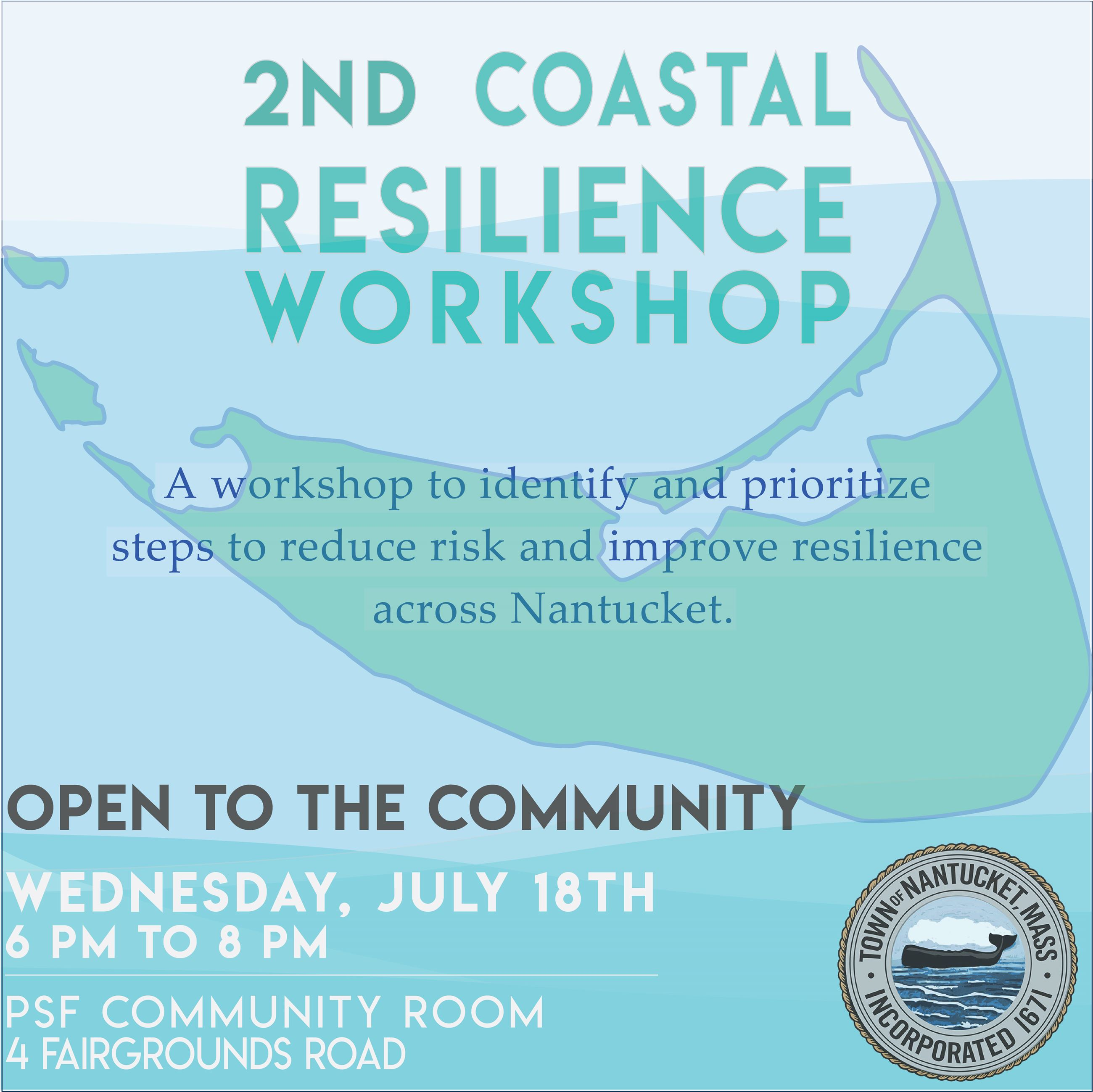 Nantucket Coastal Resilience forum II