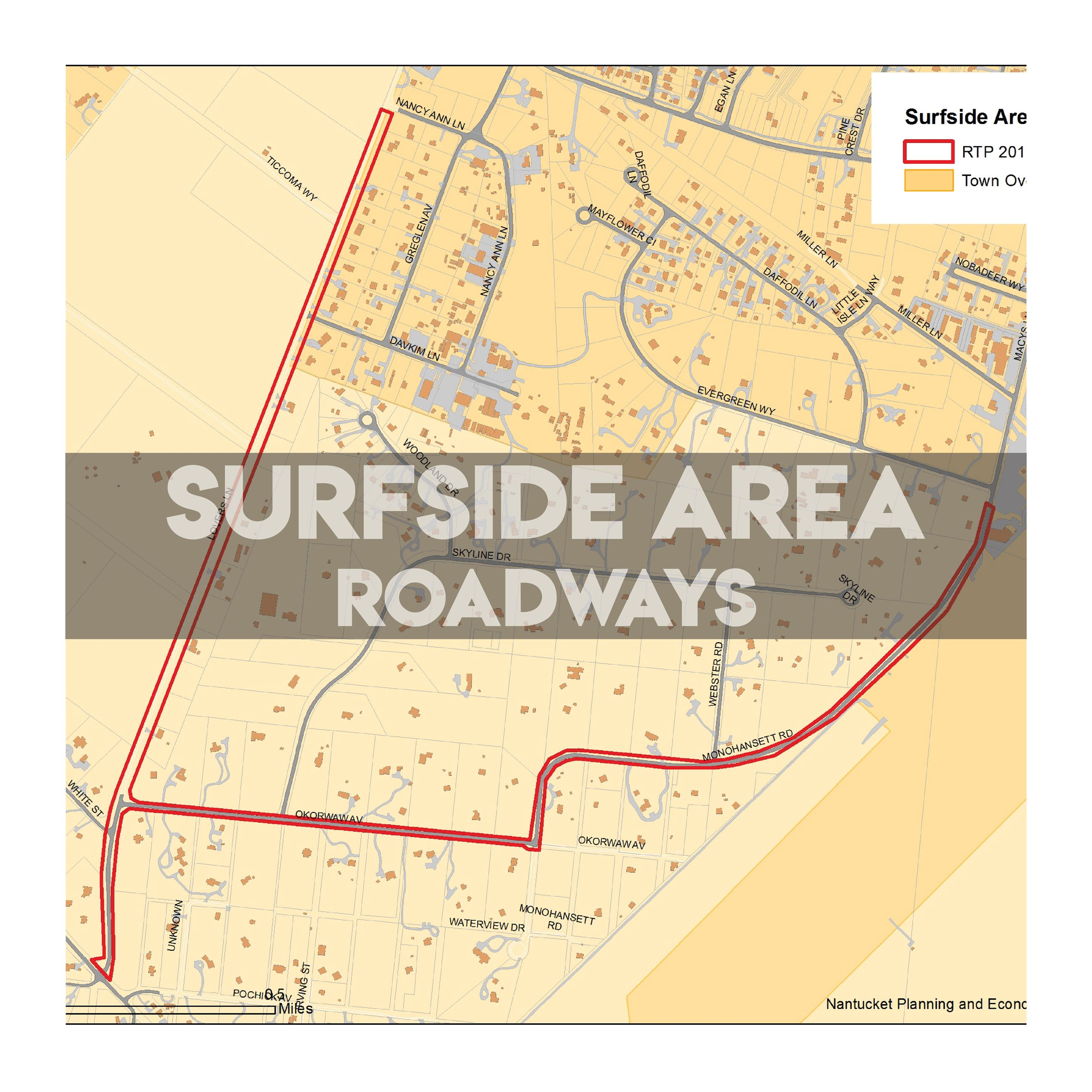 surfside area roadways