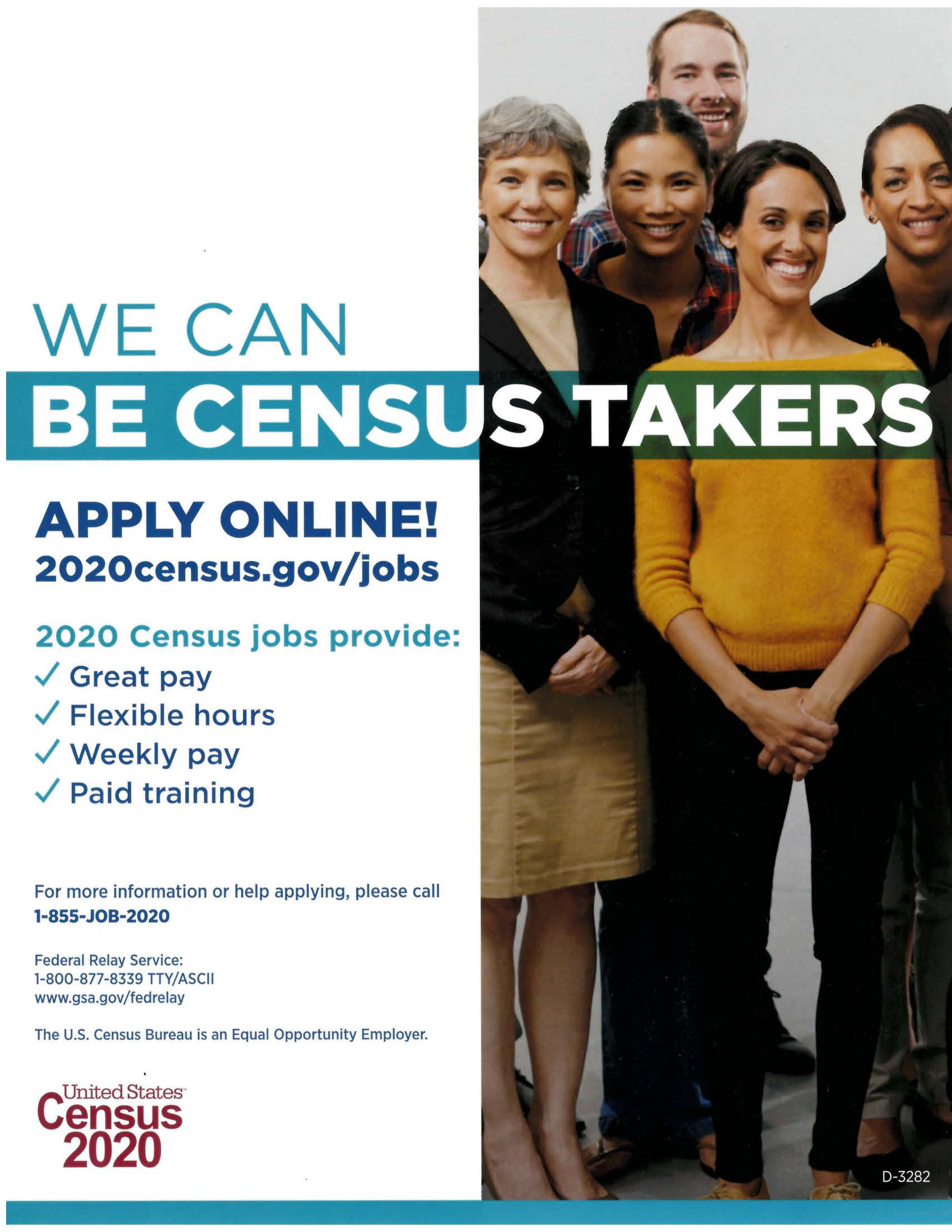 303 D3282 Be Census Takers