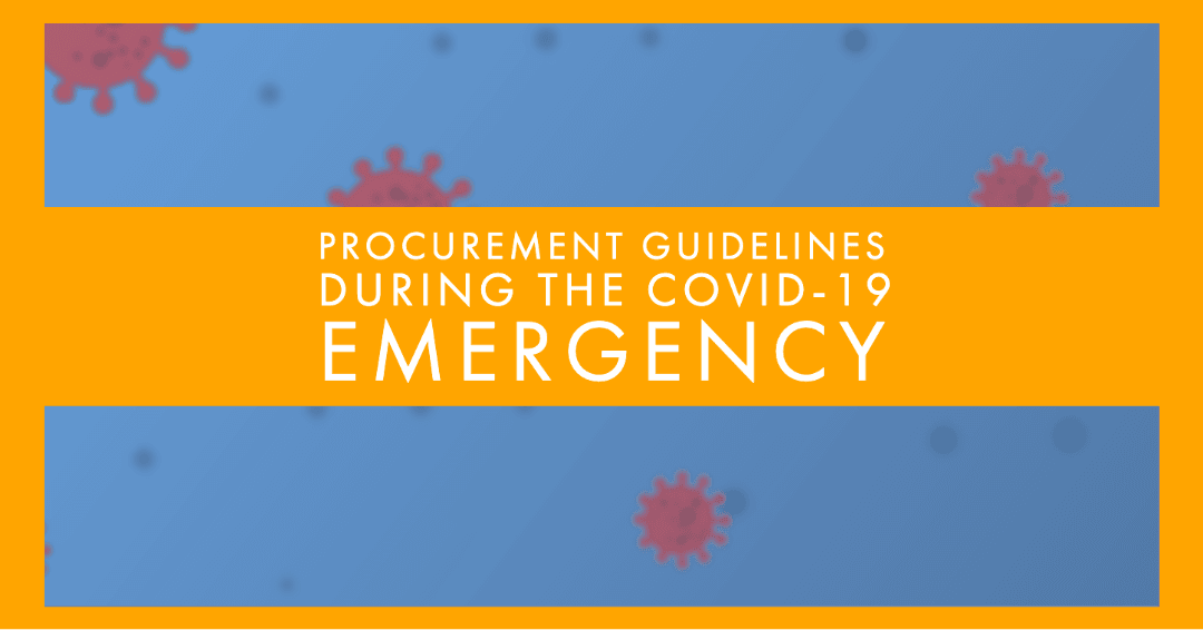 Procurement Guidelines During Covid-19 Image