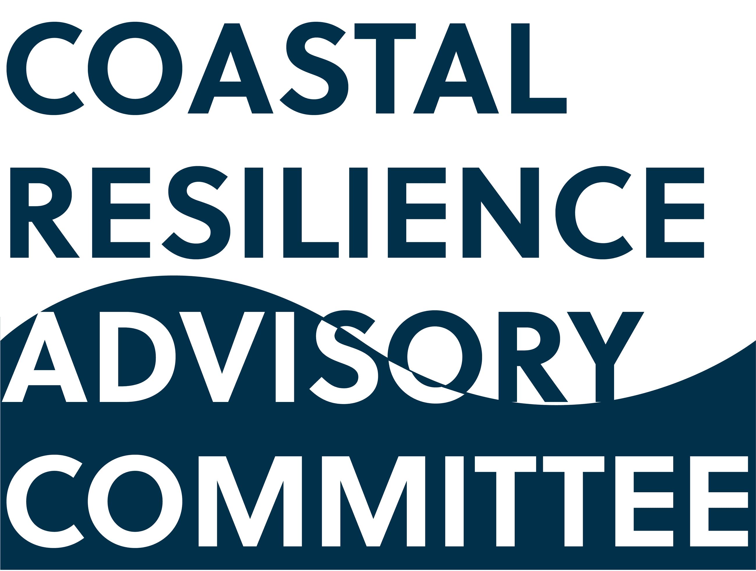 Coastal Resiliency Advisory Committee logo