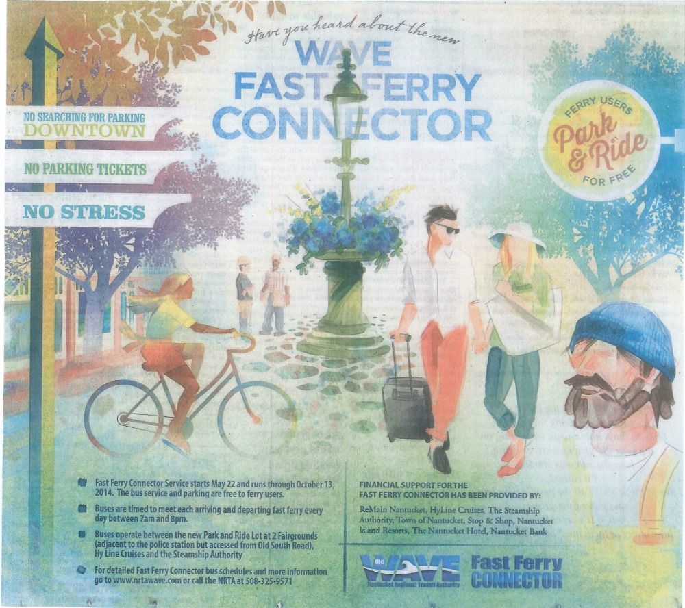 Fast Ferry Connector ad