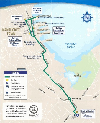 Fast Ferry Connector Map